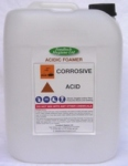 FOODTECH ACIDIC FOAMER is a  High Foam Acid Based Detergent