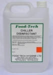 FOODTECH CHILLER DISINFECTANT ia a alcohol based disinfectant for use on Air Conditioning Coils, Refrigeration Equipment