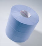 CENTRE FEED BLUE   2 Ply Blue