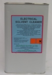 ELECTRICAL SOLVENT CLEANER is a highly refined non aromatic solvent cleaner