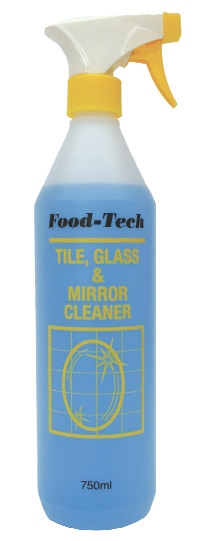 FOOD TECH TILE,GLASS & MIRROR CLEANER