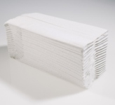HAND TOWELS 2 PLY WHITE