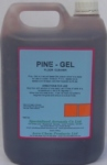 PINE GEL Is a synthetic pine oil based jelly soap.