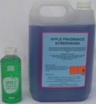 SCREENWASH ( APPLE ) as above but with an apple perfume for in car freshness