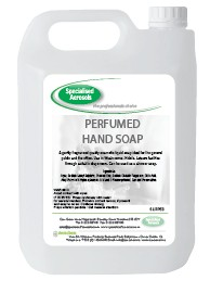 PERFUMED HAND SOAP  is a luxury pink pearlised hand cleaner with a pleasant perfume