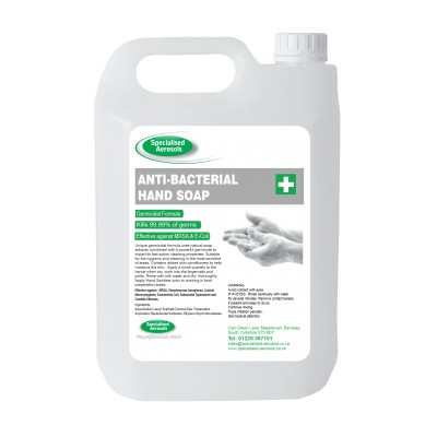 BACTERICIDAL HAND CLEANER