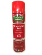 WHEELCHAIR RED 500 ml    colour matched for NHS wheel chairs