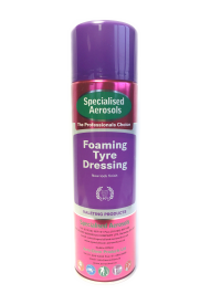 FOAMING TYRE DRESSING